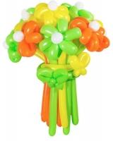 Букет из воздушных шаров осенний