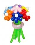 Букет из воздушных шаров разноцветный