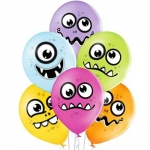 """Воздушные шары """"Забавные Монстрики"""""""