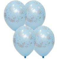 "Воздушные шары ""Конфетти Голубой"""