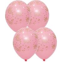 """Воздушные шары """"Конфетти Розовый"""""""