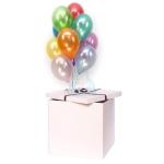 Коробка сюрприз с воздушными шарами №14