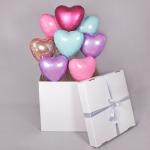 Коробка сюрприз с воздушными шарами №2