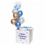 Коробка сюрприз с воздушными шарами №3