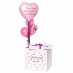Коробка сюрприз с воздушными шарами №4