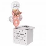 Коробка сюрприз с воздушными шарами №5
