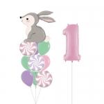"""Набор воздушных шаров """"Лесной зайка"""""""