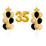 Набор воздушных шаров к 35 летию