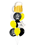 """Набор воздушных шаров """"С днем рождения для бро"""""""
