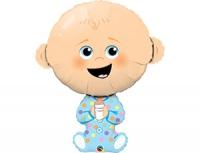 """Фольгированный шар """"Малыш мальчик"""""""