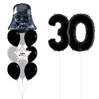 """Набор воздушных шаров """"Звездная дата Дарт Вейдер"""""""