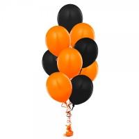 Фонтан оранжевый с черным