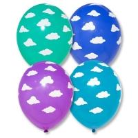 """Воздушные шары с гелием """"Облака"""""""