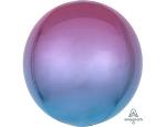 Шар 3д сфера градиент фиолетово-голубой