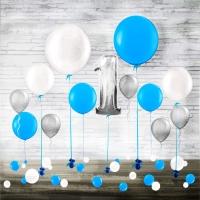"""Набор воздушных шаров """"Нежное для мальчика"""""""