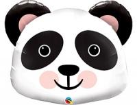 """Шар фольгированный """"Панда голова"""""""