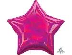 Фольгированный шар звезда перелив фуше