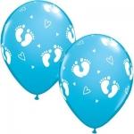 """Воздушные шары с гелием """"Пяточки Мальчик"""""""