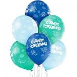 """Воздушные шары """"С Днем Рождения Самолеты"""""""
