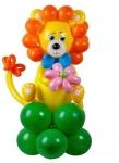 """Фигура из воздушных шаров """"Львенок"""""""