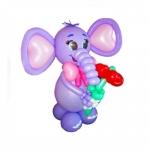 """Фигура из воздушных шаров """"Слоник"""""""
