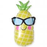 Фольгированный ананас в очках