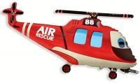 Фольгированный шар Вертолет-Спасатель