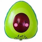 Фольгированный шар авокадо