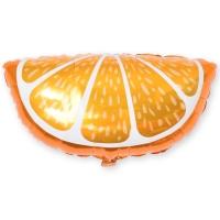 Фольгированный шар долька апельсина