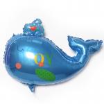 Фольгированный шар кит мальчик