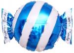 Фольгированный шар конфета синий