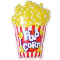 Фольгированный шар попкорн