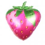 Фольгированный шар розовая клубника