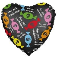 Фольгированный шар сердце Ты моя конфетка