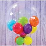 Шар баблс с шариками внутри