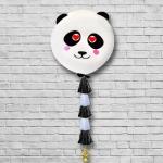 Шар панда с тассел гирляндой