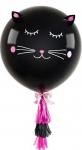 Шар черная кошка