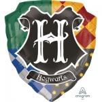 """Фольгированный шар """"Гарри Поттер герб Хогвардса"""""""