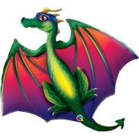"""Фольгированный шар """"Летящий дракон"""""""