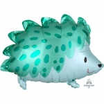 """Фольгированный шар """"Ежик зеленый"""""""