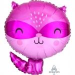 """Фольгированный шар """"Енот фиолетовый"""""""