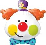 """Фольгированный шар """"Клоун"""""""