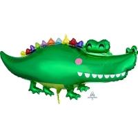 """Фольгированный шар """"Крокодил"""""""