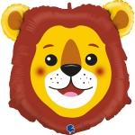 """Фольгированный шар """"Голова лев"""""""