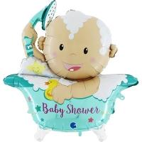 """Фольгированный шар """"Малыш в ванне"""""""