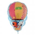 """Фольгированный шар """"Ми-Ми мишки на воздушном шаре"""""""""""