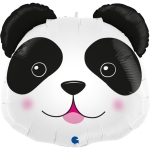 """Фольгированный шар """"Голова милая панда"""""""