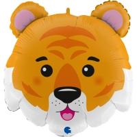 """Фольгированный шар """"Голова тигр"""""""