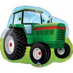 """Фольгированный шар """"Зеленый трактор"""""""