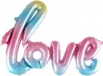 """Надпись """"Love"""" перелив"""